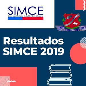 Resultados SIMCE 2019